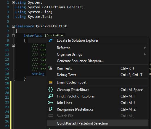 QuickPasteIt - Visual Studio Marketplace